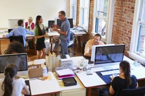 Interior Designers At Work In Office office interior design | j. ellen design in manchester nh