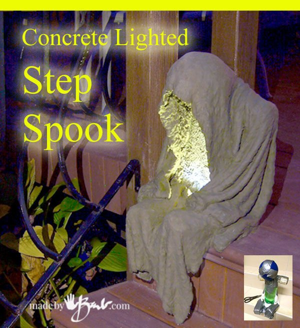 Concrete Lighted Ghoul