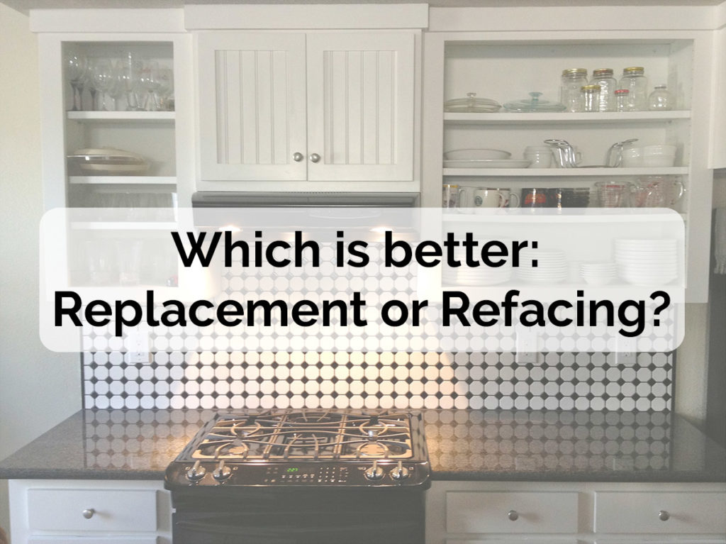 Cabinet replacement or refacing