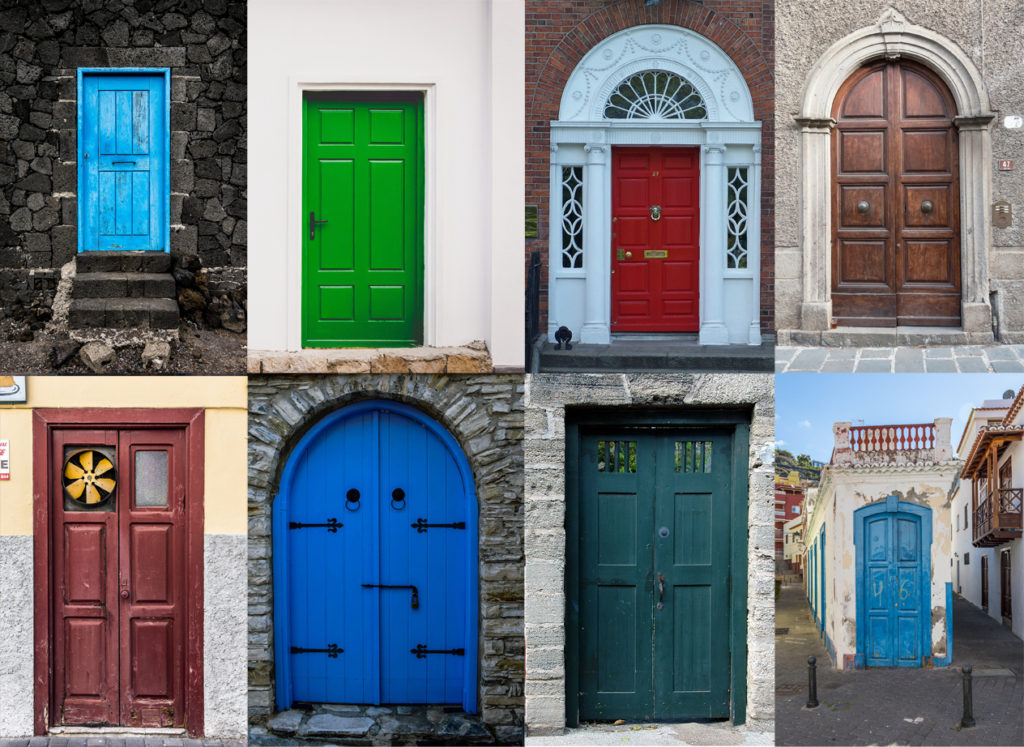10 Fantastic Ideas For Your Front Door Accent Color