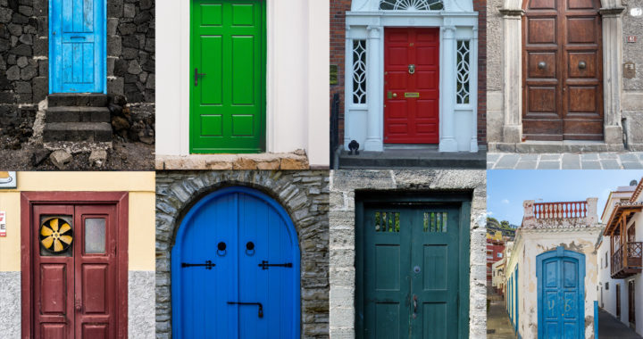 Beautiful Colored Front Doors