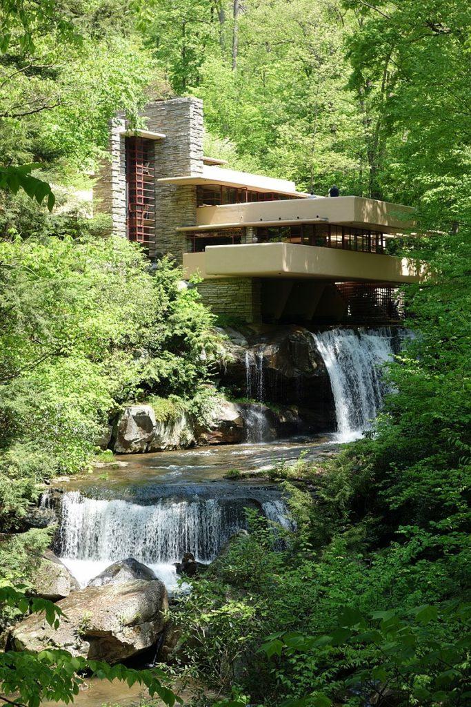Fallingwater, Frank Lloyd Wright Design