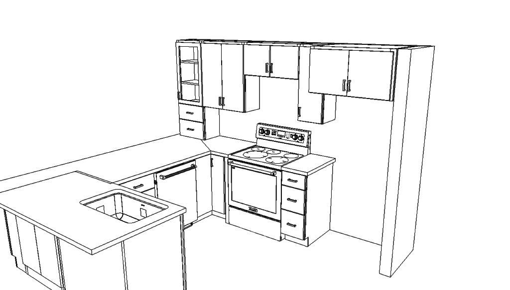 Kitchen Design Wireframe
