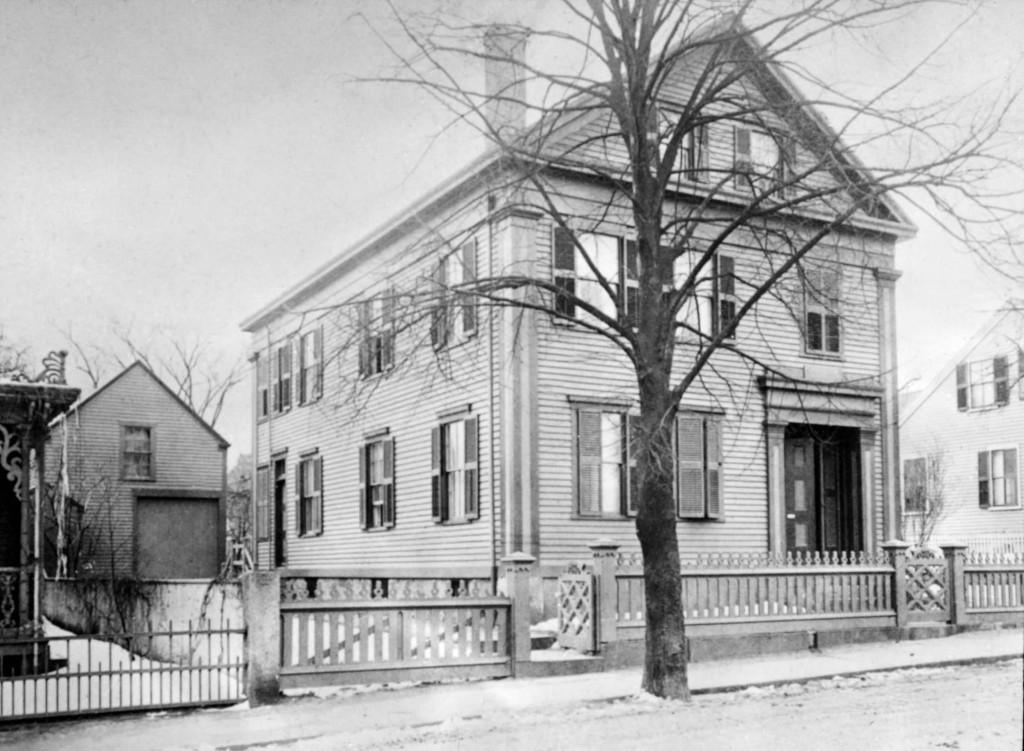 The Borden household at 92 Second Street in Fall River, Massachusetts