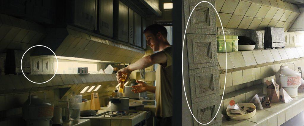Blade Runner 2049 Frank Lloyd Wright Tiles
