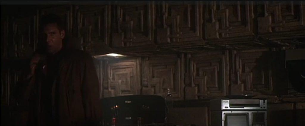 Blade Runner 1982 Frank Lloyd Wright Tiles.