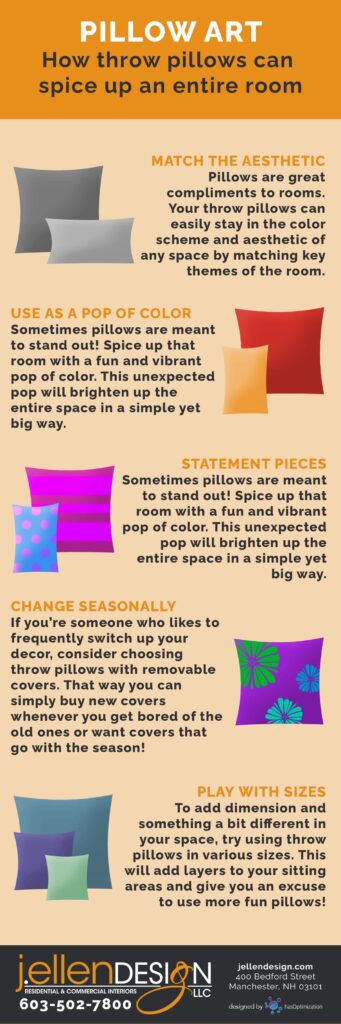 Pillow Art Infographic